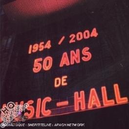 50 Ans De Music Hall / Adamo, Graeme Allwright, Hugues Aufray...